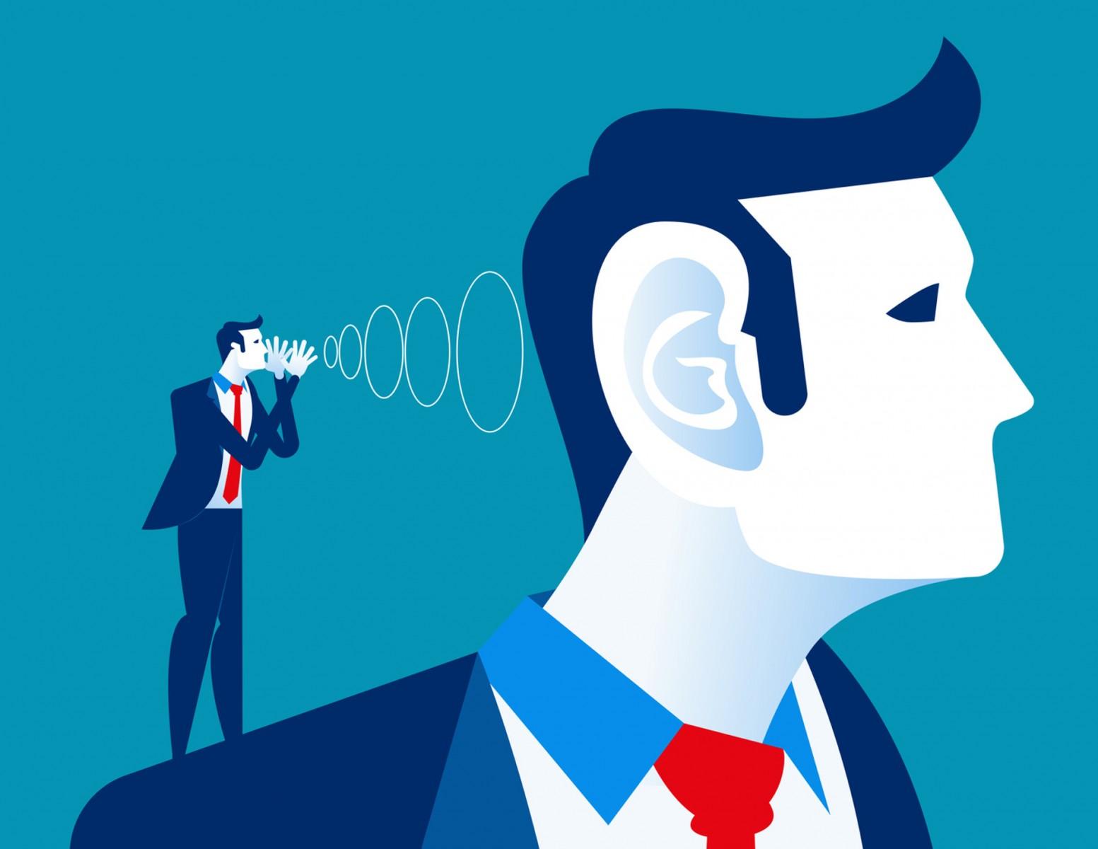 Słuchasz na zewnątrz, a czy słuchasz głosu z wewnątrz?